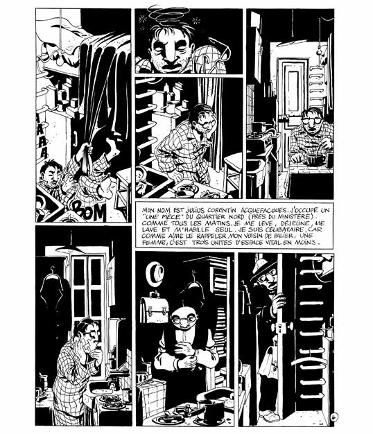L'Origine . 1990 . Delcourt